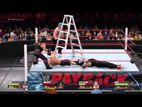 WWE 2k16- Edwin Stopped Me