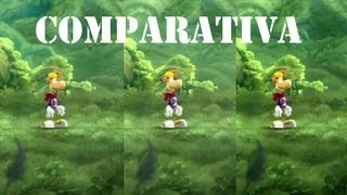 Rayman Legends | WiiU vs PS3 vs Xbox 360