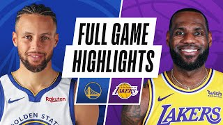 Game Recap: Lakers 117, Warriors 91