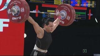 Чемпионат мира 2015. Женщины в.к. до 75 кг.