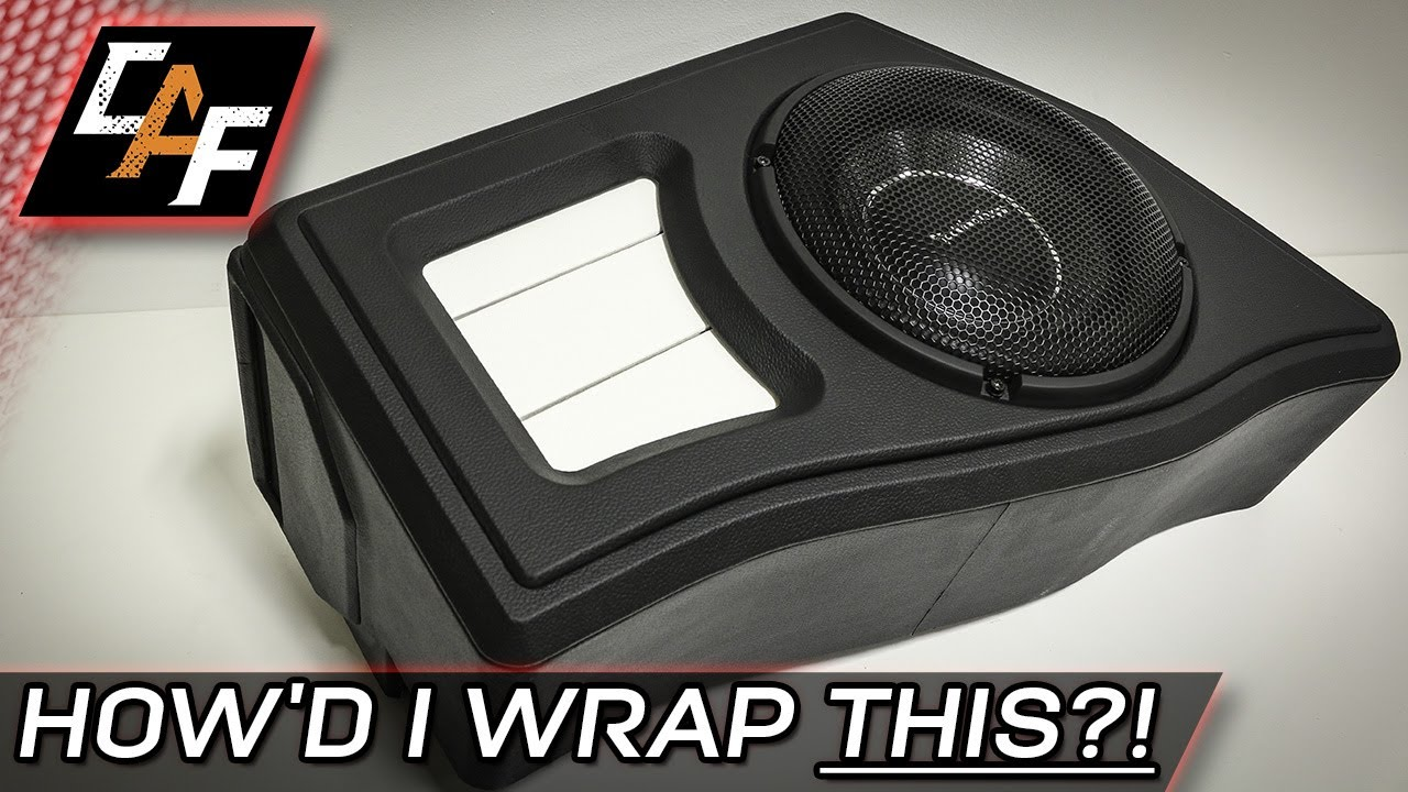 vinyl upholstery subwoofer box wrap techniques cara doovi. Black Bedroom Furniture Sets. Home Design Ideas