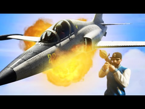 GTA 5 Funny Moments - SUICIDE JETS! (GTA 5 Funny Moments)