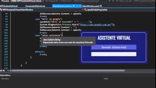 Crear tu Asistente Virtual para PC en C# WPF parte 4