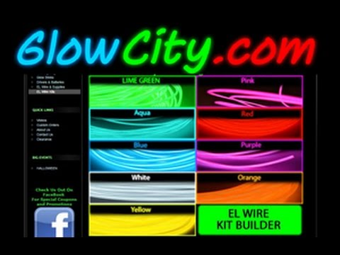 Premium EL Wire Kits available at GlowCity.com - YouTube