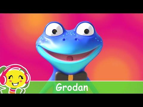 Grodan Tvttar Inte Ftterna  Barnsnger p svenska – BarnmusikTV – Cantece pentru copii in limba suedeza