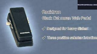 Rocktron Black Cat Moan Wah Pedal