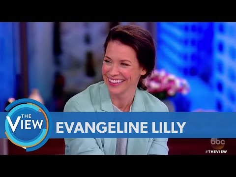 Evangeline Lilly On Making History In 'AntMan And The Wasp'  The View