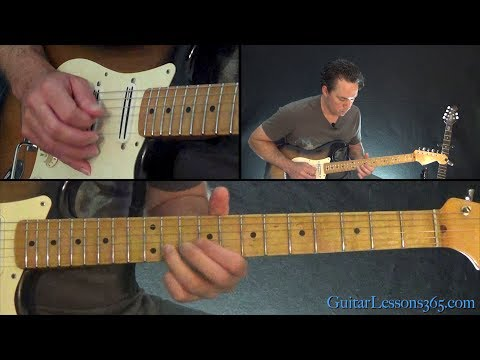 Pink Floyd Shine On You Crazy Diamond Guitar Lesson Guitar