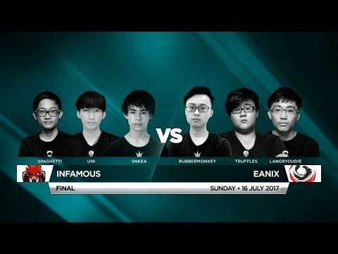 Infamous Vs Eanix • Vainglory 8 • Southeast Asia • Summer Split 1, Week 4, Finals
