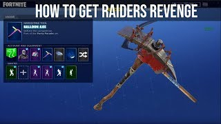 Comment GET RAIDERS REVENGE FOR FREE IN FORTNITE (UPDATED)