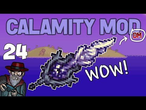 Terraria # 24 POST MOONLORD ABYSS! Calamity Mod D-Mode Let's Play