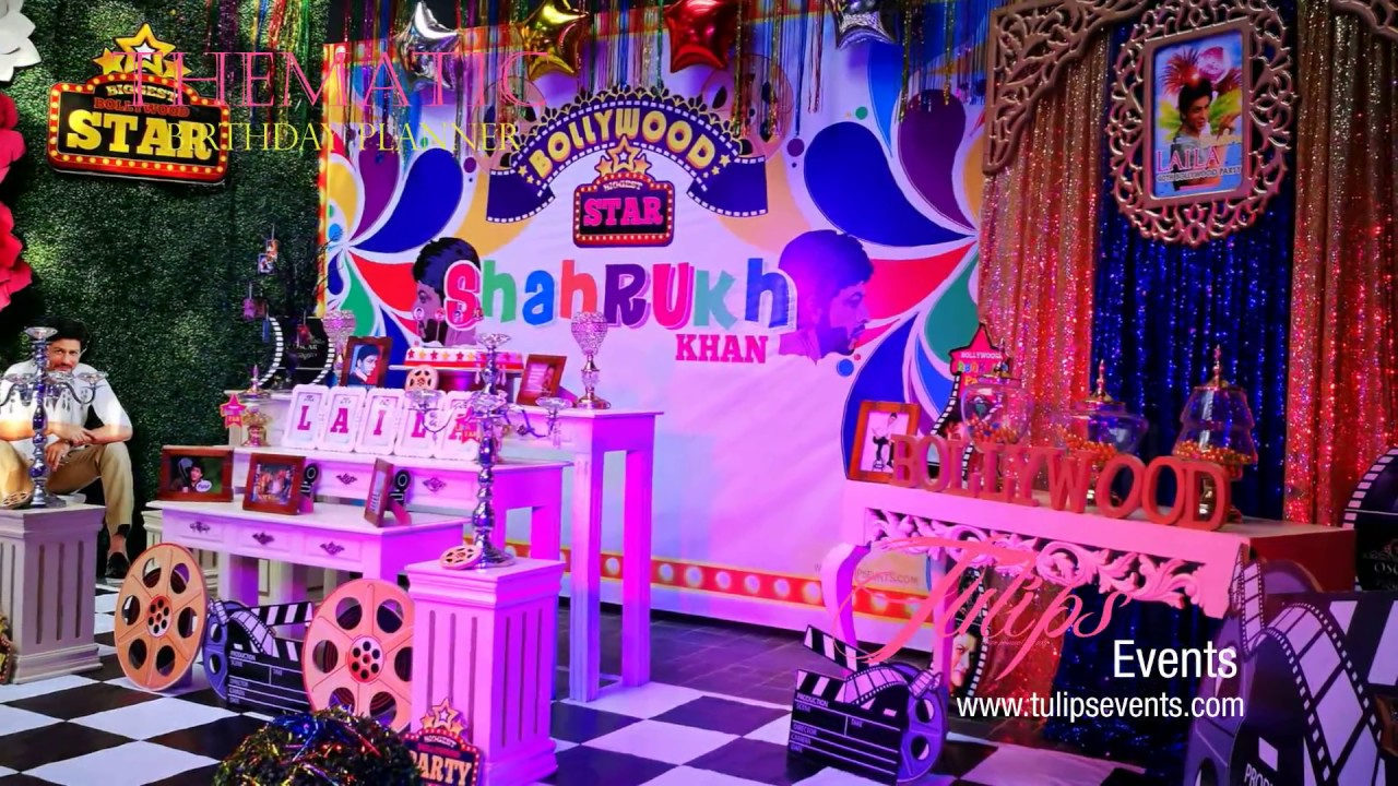 Bollywood Theme Birthday Party Decor Ideas By Tulips Events
