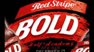 Red Stripe Bold Bar Code