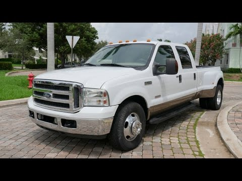 2007 ford f 350 crewcab diesel lariat dually 6 0l for sale. Black Bedroom Furniture Sets. Home Design Ideas