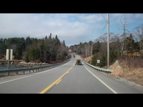 Coastal Maine Route 1 In Time Lapse Youtube
