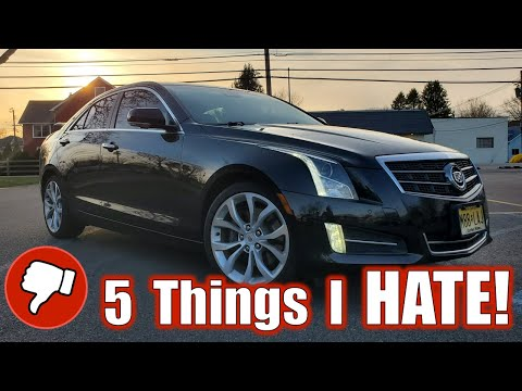5 Things I HATE! About My Cadillac ATS