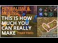 WoW BFA Gold Making: This is how much you can REALLY make with Mining & Herbalism. Ft. My GF