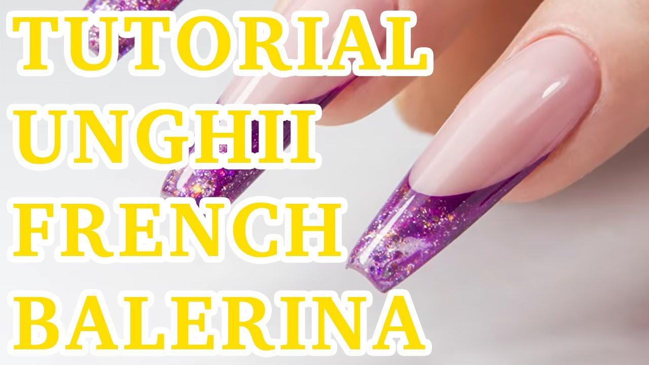 Tutorial Unghii cu Gel ? FRENCH BALERINA 2020 | Nails By Cupio