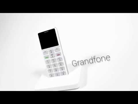 Seniorenhandy mit Notruf-Funktion & Raumüberwachung Grandfone