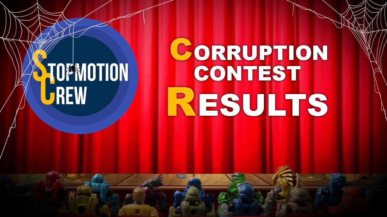 Stopmotion Crew Livestream - CORRUPTION (CONTEST RESULTS)