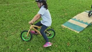 Bambino Bamboo Balance Bike in Intramuros