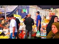 Karbala city tour streets walk shops foods in iraq