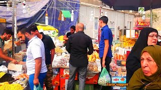 Karbala City Tour Streets Walk Shops Foods In Iraq Middle East 2020