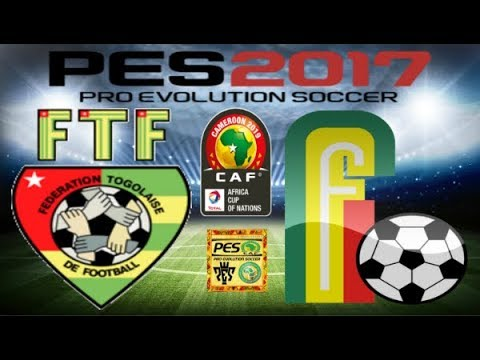 PS4 PES 2017 Gameplay Togo vs Benin HD