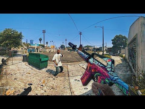 ►GTA 5 IN 360° VR | 4k Gameplay