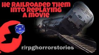 Player gets nuclear revenge on Railroading DM