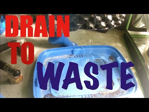 WHAT IS DRAIN TO WASTE?