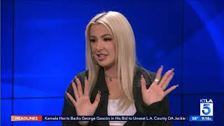 YouTube Personality Tana Mongeau on her Show 'MTV No Filter: Tana Mongeau'