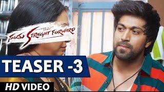 Download Hindi Video Songs - Santhu Straight Forward Video Teaser 3 | Yash, Radhika Pandit  | V. Harikrishna | Mahesh Rao