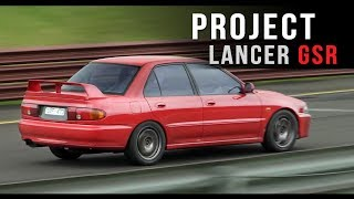 Project GSR: We take it to the track! | Mitsubishi 4G63