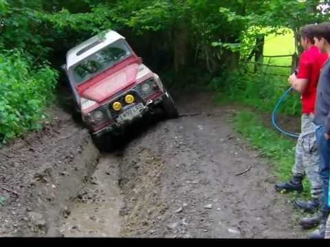 Landrovers greenlaing in wales NORT4X4