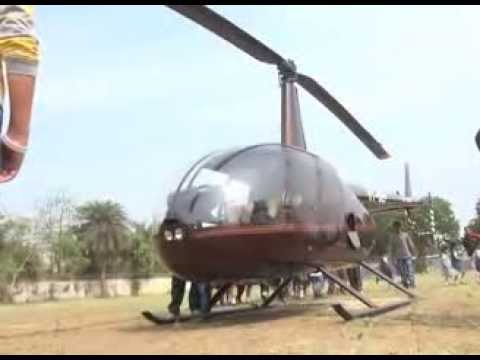 Latest Gujrat News - Helicopter lands in Ryan International Surat School - JanoDuniya TV