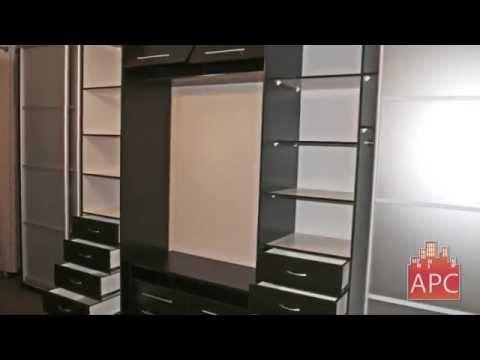 Встроенные шкафы купе в гостиную