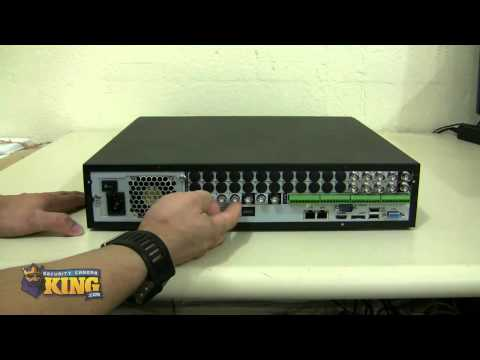 4 Channel Federal Series H.264 960H Realtime Security DVR Unboxing - DVR-FE04120