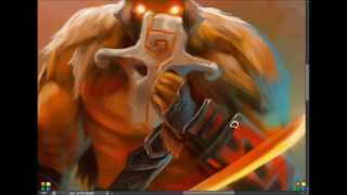 Yurnero the Juggernaut - Speed Painting.