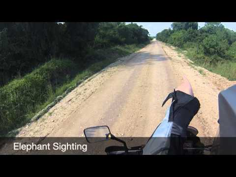 Uganda - Kasese to Buhoma motorbike trip