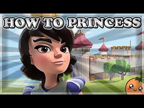 How to Use & Counter Princess | Clash Royale 🍊