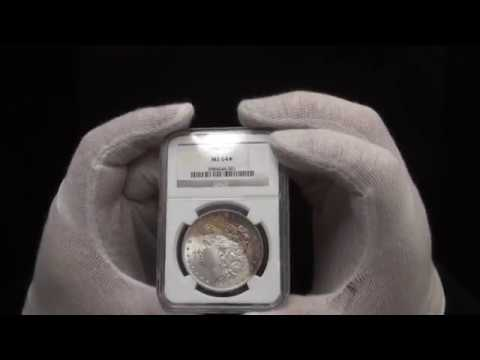 006 - $400 - 1884-O Morgan Silver Dollar NGC MS64*