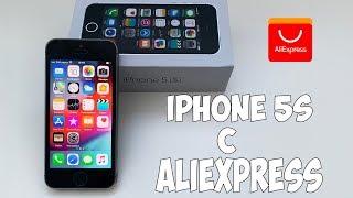 iPhone 5S ЗА 7000Р! ВОССТАНОВЛЕННЫЙ С АЛИЭКСПРЕСС. НОРМ ЛИ В 2018 ГОДУ?