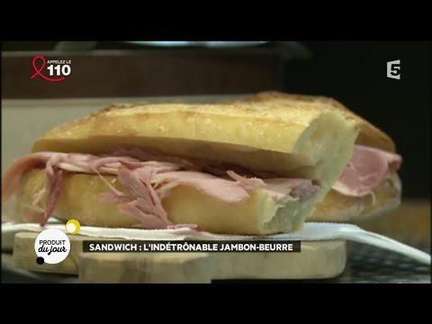 Sandwich : l'indétrônable jambon-beurre de Paris