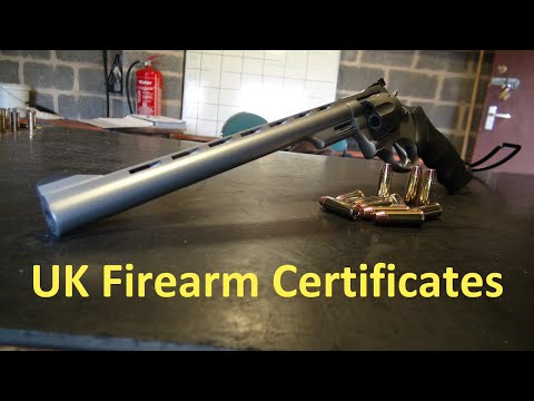 Firearm Certificates (UK) Explained