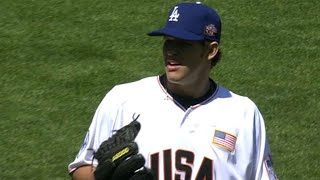 2007 Futures: Kershaw records two outs in the 7th