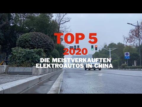 Elektroautos aus China: Die Top 5 Bestseller in 2020