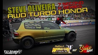 7.6 second AWD Honda: Steve Oliveira Wild Street Class Record Holder