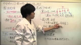 【日本史】平安③薬子の変と嵯峨天皇の政治