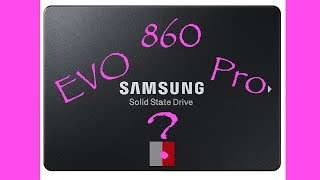 Samsung SSD: 860 EVO vs 860 Pro (Unboxing)